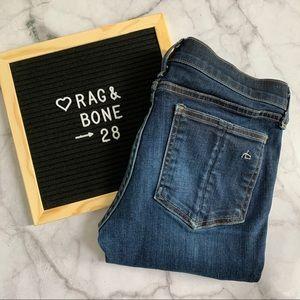 rag & bone low rise Skinny jeans Harrow size 28